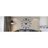 Настенные 3D-часы 12 Time Black
